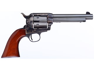 "Taylor's & Co The Gunfighter Single Action Revolver 357 Magnum 5.5"" Blued Barrel Case Hardened Steel Frame Walnut Grips 6 Round"