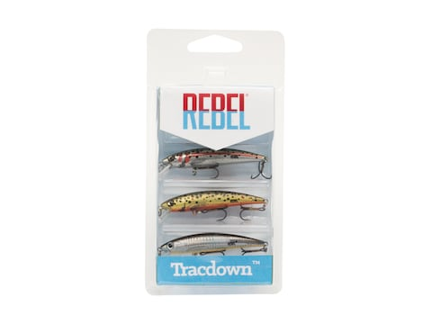 Rebel Tracdown Minnow 3 Pack
