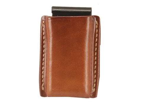 Galco Single Magazine Pouch 45 ACP, 10mm Glock Double Stack Magazines Leather