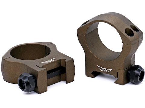 Warne Mountain Tech Picatinny-Style Rings Matte