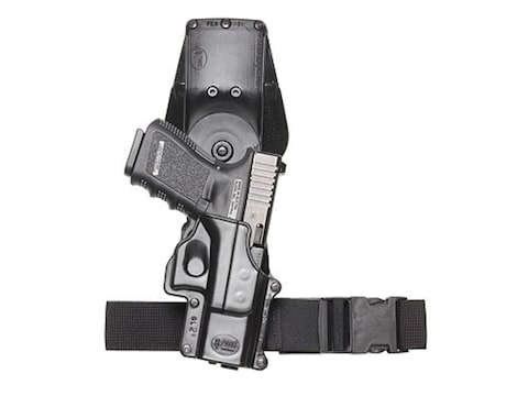 """Fobus Roto Tactical Thigh Rig for 1-3/4"""" Belt Polymer Black"""