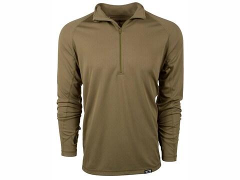 King's Camo Men's XKG Elevation Long Sleeve UPF30 1/4 Zip T-Shirt Polyester
