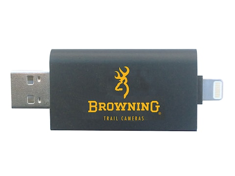 Browning Trail Camera SD Card Reader for IOS Devices