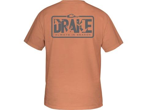 Drake Men's Always In Season Short Sleeve T-Shirt Cotton