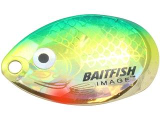 Northland Baitfish-Image Indiana Blade #4 Yellow Perch 3 pk