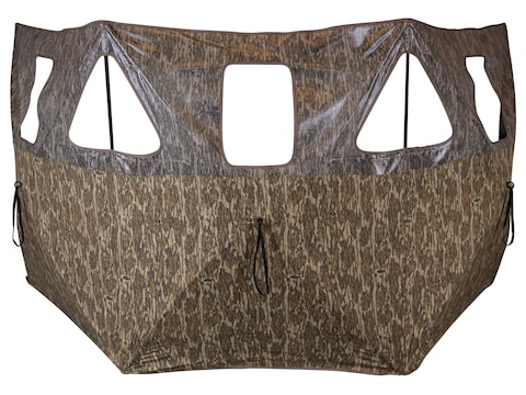 Primos Double Bull 3 Panel Stakeout Ground Blind Mossy Oak Bottomland