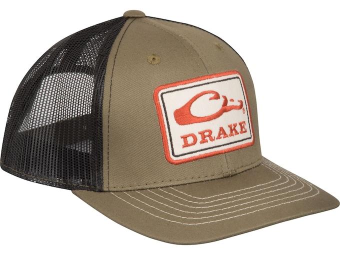 Drake Square Patch Mesh Back Cap