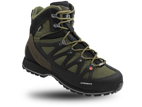 "Crispi Thor GTX 8"" GORE-TEX Hiking Boots Leather Olive/Black Men's"