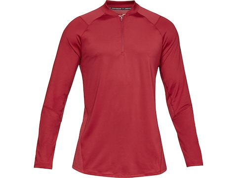 Under Armour Men's UA MK1 1/4 Zip Long Sleeve Shirt Polyester/Elastane