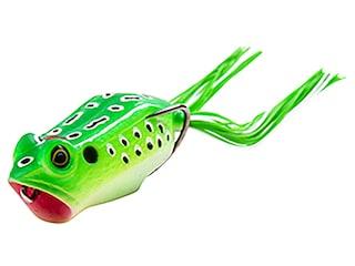 Z-Man Leap Frogz Popping Frog Frog Green Leopard 2.25