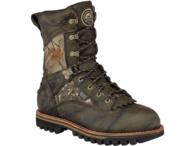 """Irish Setter Elk Tracker 10"""" Insulated Hunting Boots Leather Men's"""