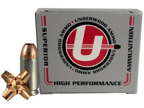 Underwood Ammunition 40 S&W 140 Grain Lehigh Maximum Expansion Lead-Free Box of 20