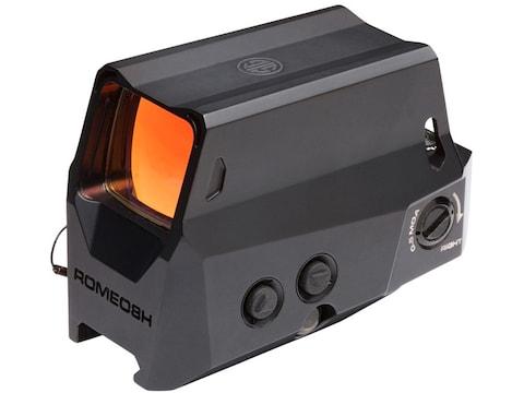 Sig Sauer ROMEO8H Red Dot Sight 1x 38mm 1/2 MOA Adjustments Ballistic Circle-Dot Reticl...
