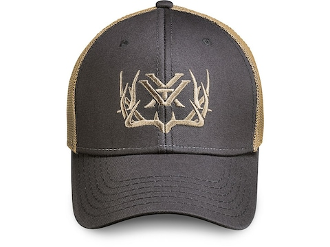 Vortex Optics Men's Mule Deer Mesh Back Logo Cap Polyester Gray