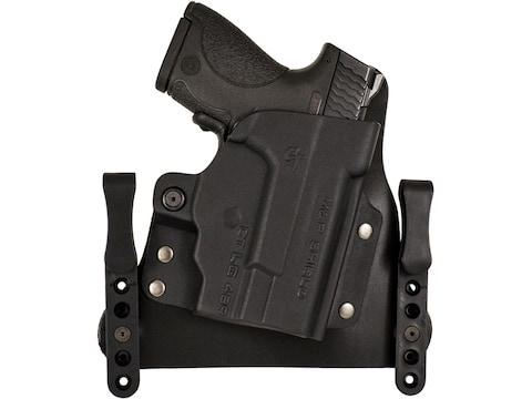 Comp-Tac MERC Inside the Waistband Holster Smith & Wesson M&P Shield  Laser Kydex and L...
