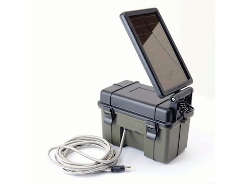 HME Trail Camera Solar Power Pack 12 Volt