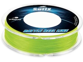 Sufix Rattle Reel V-Coat Fishing Line 20lb 50yd Neon Lime