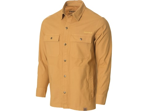 Banded Men's Canvas Camp Shirt Jacket