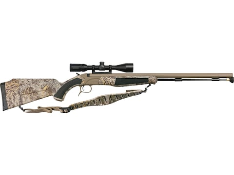 "CVA Accura MR Muzzleloading Rifle with KonusPro 3-9x40mm IR Scope 50 Caliber 25"" Fluted..."