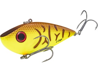 Strike King 3/4oz Red Eyed Shad Tungsten 2 Tap Lipless Crankbait Chartreuse Belly Craw