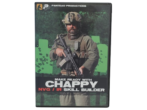 """Panteao """"Make Ready with Chappy: NVG / IR Skill Builder"""" DVD"""