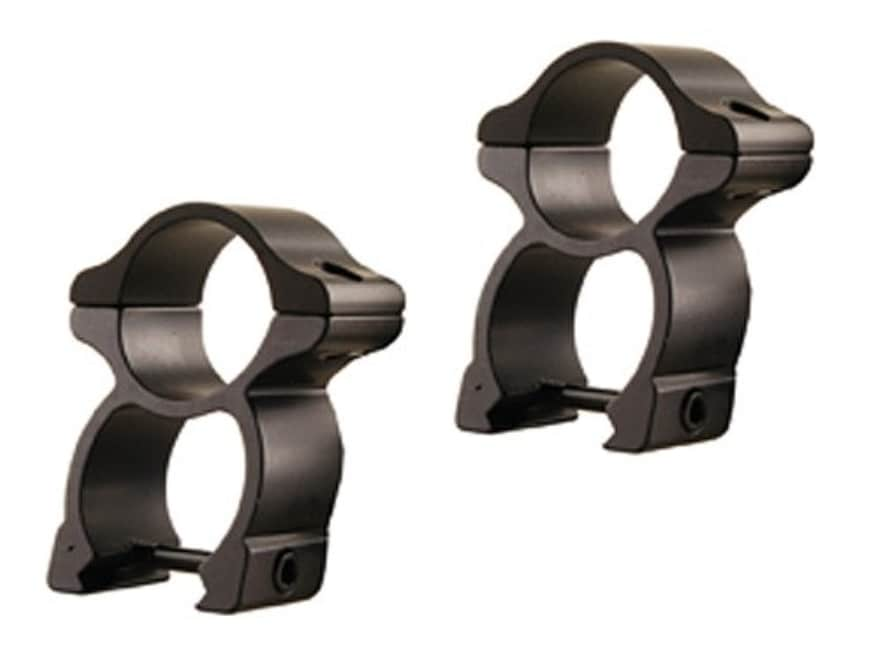"Hammers 1inch 1/"" Scope Rings See-Thru for weaver Rail"