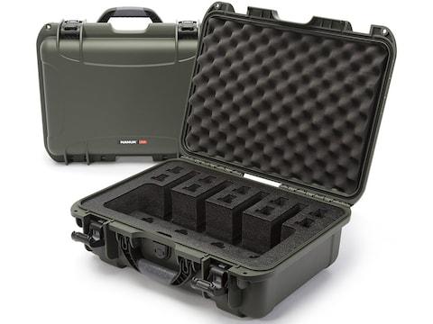 "Nanuk 925 4 UP Pistol Case with Foam 17"" Polymer"