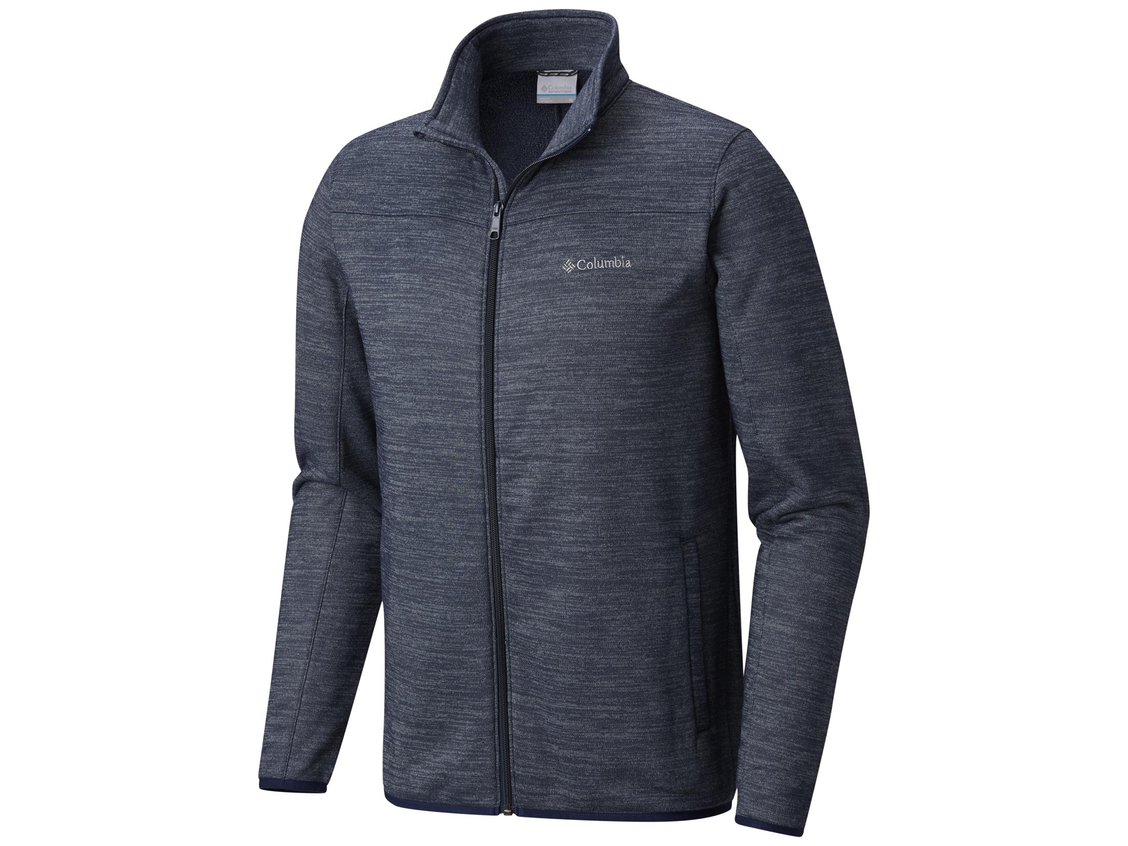 buy new lifestyle recognized brands Columbia Men's Birch Woods II Full Zip Fleece Jacket Polyester