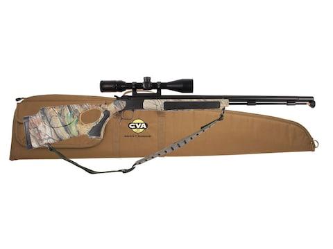 "CVA Accura V2 Muzzleloading Rifle with KonusPro 3-10x 44mm Scope 50 Calliber 27"" Nitrid..."
