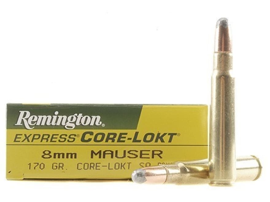 Remington Express Ammo 8x57mm JS Mauser (8mm Mauser) 170 Grain