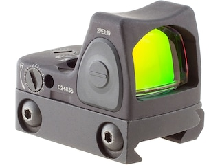 Trijicon RMR Type 2 Reflex Red Dot Sight Adjustable LED 3.25 MOA Red Dot Matte with RM33 Mount