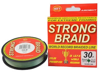 Ardent Strong Braided Fishing Line 30lb 300yd Green