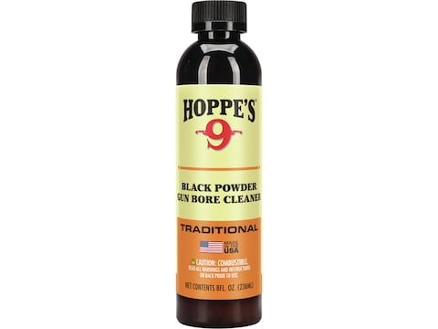 Hoppe's #9 Black Powder Bore Cleaning Lubricant 8 oz Liquid