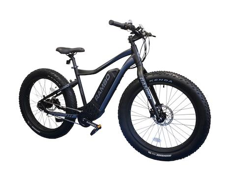Rambo Bikes Pursuit 750W High Performance Electric Bike Black & Gray
