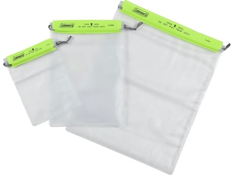 Coleman Splashproof Gear Pouch Pack of 3