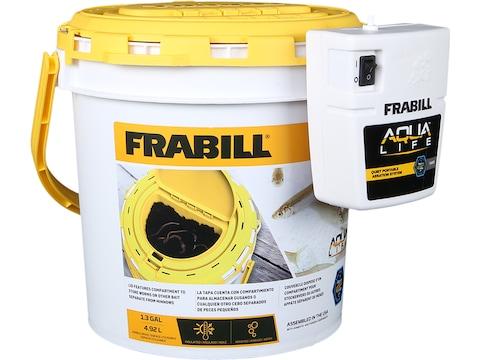 Frabill Dual Bait Bucket with Aerator