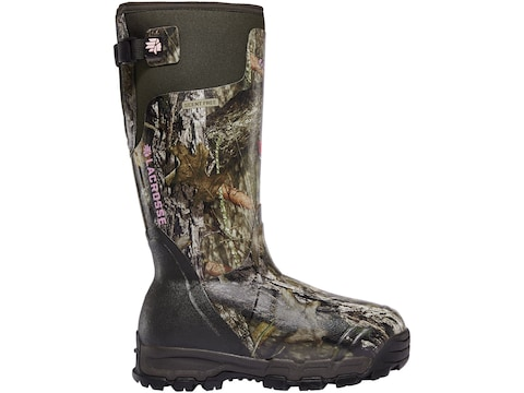 """LaCrosse Alphaburly Pro 15"""" Insulated Hunting Boots Rubber Clad Neoprene Women's"""