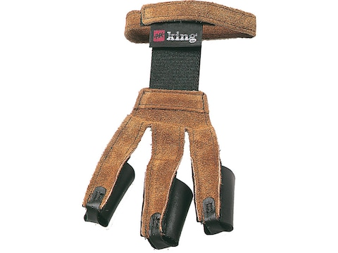 PSE King Traditional Leather Archery Shooting Glove