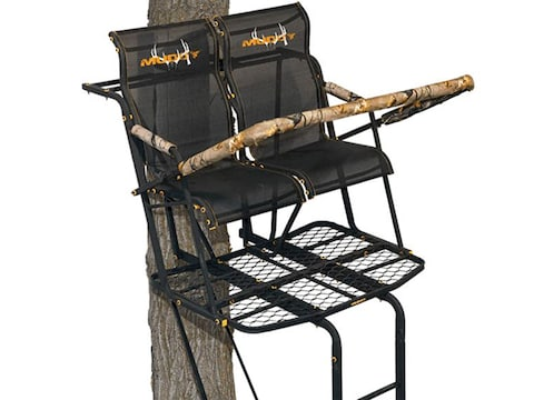 Muddy Outdoors The Rebel 17' Double Ladder Treestand Steel