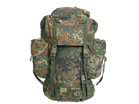 Military Surplus German Combat Rucksack Grade 2 Flecktarn Camo