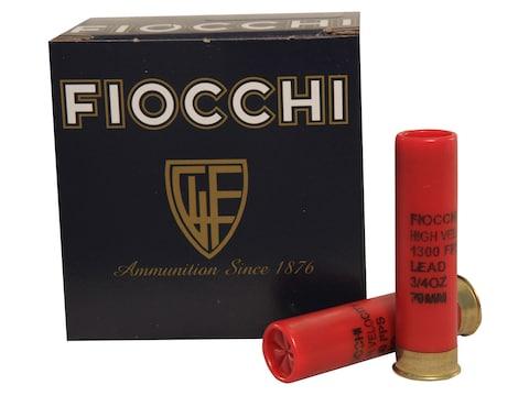 "Fiocchi High Velocity Ammunition 28 Gauge 2 3/4"" 3/4  oz #9 Chilled Lead Shot"