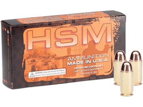 HSM Remanufactured Ammunition 9mm Luger 115 Grain Full Metal Jacket