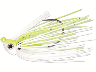 Terminator HD Swim Jig Chartreuse and White Shad 3/8 oz