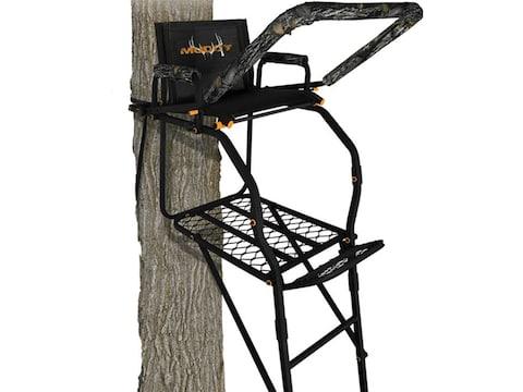 Muddy Outdoors The Huntsman Deluxe 17' Single Ladder Treestand Steel