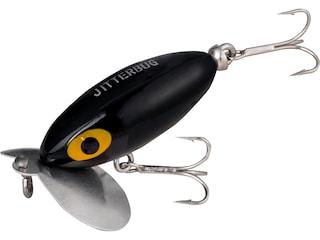Arbogast Jitterbug 635 Clicker Topwater Black