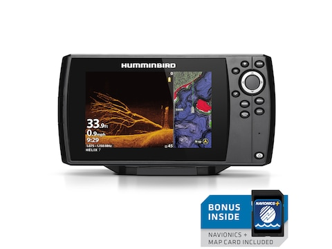 Humminbird HELIX 7 CHIRP MEGA DI GPS G3 NAV+ Fish Finder