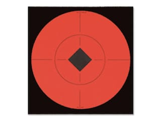 """Birchwood Casey Target Spots 6"""" Fluorescent Red Package of 10"""