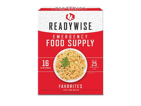 ReadyWise Emergency Food Supply Favorites Freeze Dried Food Kit