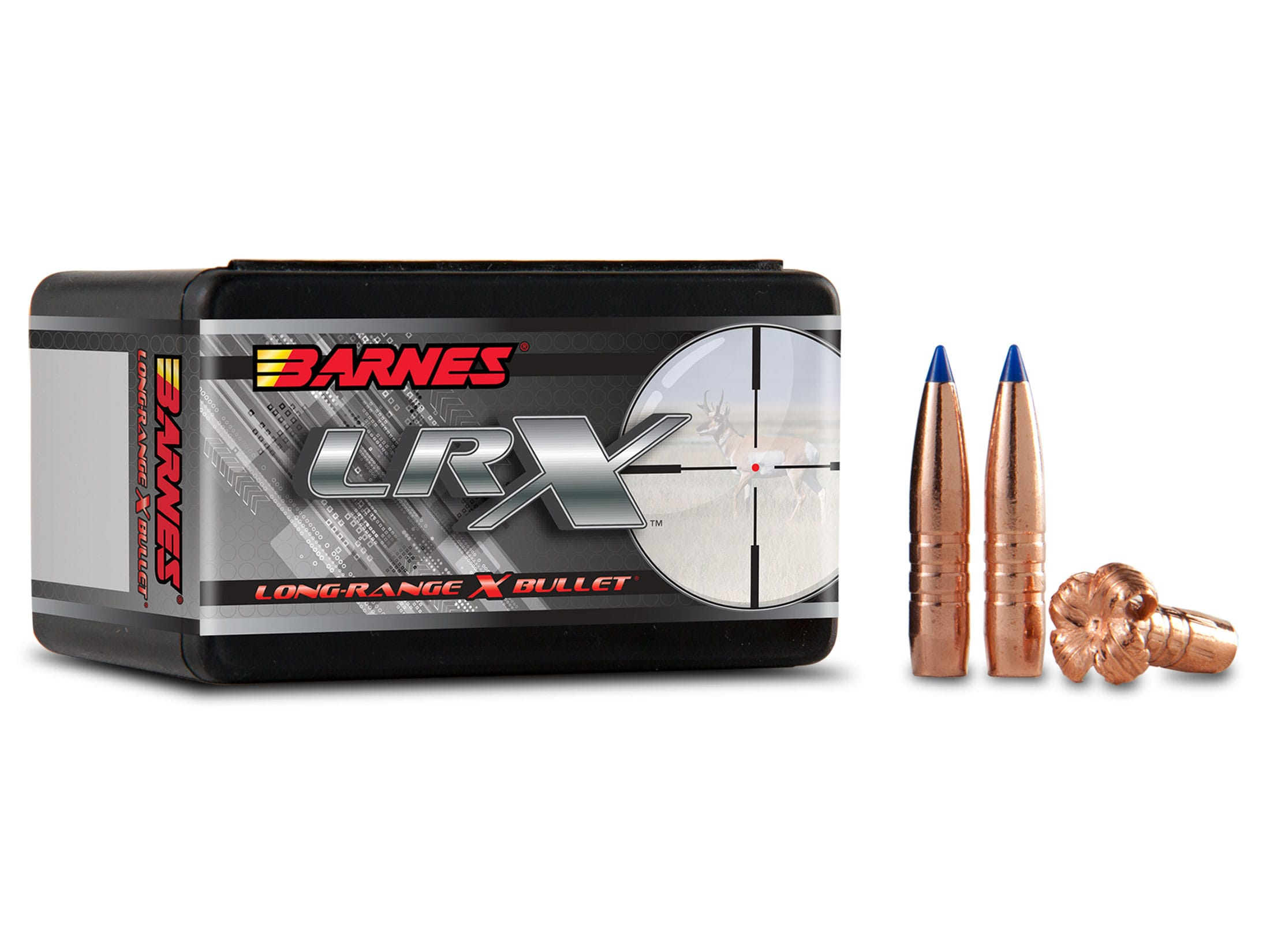 Barnes LRX Long-Range Hunting Bullets 284 Cal 7mm (284 Diameter) 145