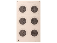 NRA Official Smallbore Rifle Targets A-23/5 50-Yard Paper Pack of 100